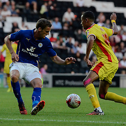 MK Dons v Leicester City | Friendly | 4 August 2014,