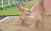 GERMISTON, SOUTH AFRICA, Saturday 25 February 2011, Charlene Potgieter broke the 20year old SA Record in the triple jump with a jump of 13.61m during the Yellow Pages Interprovincial held at the Herman Immelman stadium..Photo by ImageSA/ASA.
