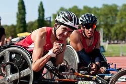 MARTIN Raymond, USA, 200m, T52, 2013 IPC Athletics World Championships, Lyon, France