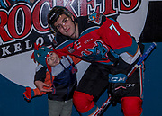 KELOWNA, CANADA - OCTOBER 13:  Home Hardware Stick Boy of the game with Libor Zabransky #7 of the Kelowna Rockets at the Kelowna Rockets game on October 13, 2017 at Prospera Place in Kelowna, British Columbia, Canada.  (Photo By Cindy Rogers/Nyasa Photography,  *** Local Caption ***