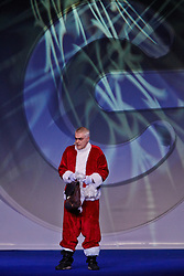 © Licensed to London News Pictures.  30/11/2012. LONDON, UK. Gadget Show presenters Jason Bradbury (not pictured), Pollyanna Woodward (not pictured) and Jon Bentley (pictured) host a Christmas themed technology show at the Gadget Show Live event at the ExCel centre in London, The event opened today (Friday 30th) and runs until Sunday. . Photo credit :  Cliff Hide/LNP