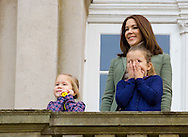 Copenhagen, 01-11-2015<br /> <br /> Crown Prince Frederik and Crown Princess Mary and their children Prince Christian, Princess Isabelle and Prince Vincent and Princess Josephine attended the Hubertus Hunt at the Eremitage Slott.