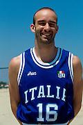 Nazionale a Roseto Degli Abruzzi 1996<br /> emiliano busca
