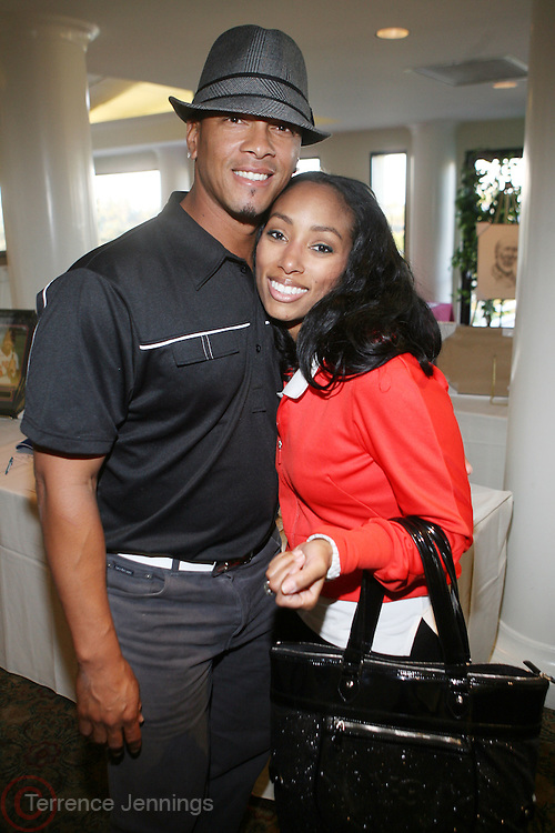 l to r: Royce Clayton and Michelle Murray at ?Kiki's 1st Annual Celebrity Golf Challenge? Presented by ALIZÉ, The Premium Liqueur held at The Braemar Country Club on October 134, 2008 in Tarzana, Ca..KiKi?s Celebrity Golf Challenge (CGC) - conceived and spearheaded by Ms. Shepard ? is a fundraising event to benefit The K.I.S. Foundation, Inc.  The central mission of The K.I.S. Foundation is to inform and educate the public, raise awareness about Sickle Cell Disease through community outreach programs and educational scholarships, and to financially help support the efforts of research institutions to find a universal cure. Sickle Cell Disease is an inherited, non-contagious blood disease that can be crippling, painful, and life threatening. The K.I.S. Foundation Awards Banquet will also honor individuals and organizations who have selflessly committed themselves in the fight against Sickle Cell Disease...