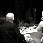 Photographs of Bride & Groom Toast and sharing memories with family & friends