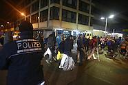 Drehkreuz für Flüchtlinge in Mannheim