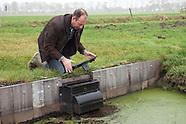 Natuurvriendelijke overstortbakken (stuwbakken) bij niveauverschillen in waterlopen