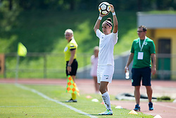 Maja Angelovska of ZNK Olimpija Ljubljana during football match between FC Minsk and ZNK Olimpija Ljubljana in 2nd Qualifying Group of UEFA Women's Champions League 2018/19, on August 7, 2018 in Stadion ZAK, Ljubljana, Slovenia. Photo by Urban Urbanc / Sportida