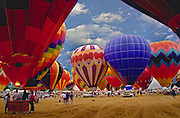 Hot air balloon; festival; Albuquerque; New Mexico; USA; US; hot air balloons; ballooning