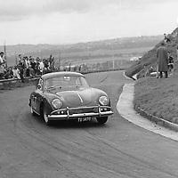 #63 Porsche 356 A Coupe, Krugersdorp Hillclimb 1960s South Africa