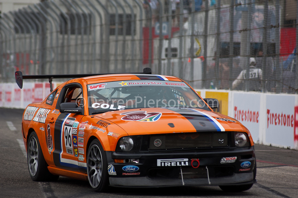 #96 USA Cares/Western Metal 2008 Ford Mustang: Pratt Cole