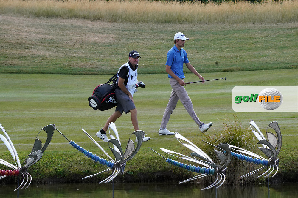 Zach Murray (NZL) walks down the 6th fairway at the Hills Club during the second round of the New Zealand Open 2020, Millbrook Resort, Queenstown, New Zealand. 27/02/2020<br /> Picture: Golffile | Phil Inglis<br /> <br /> <br /> All photo usage must carry mandatory copyright credit (© Golffile | Phil Inglis)