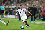 Jose Gaya of Valencia CF during the UEFA Champions League, Group H football match between Valencia CF and Juventus FC on September 19, 2018 at Mestalla stadium in Valencia, Spain - Photo Manuel Blondeau / AOP Press / ProSportsImages / DPPI