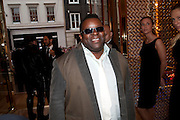 ISAAC JULIEN, Louis Vuitton openingof New Bond Street Maison. London. 25 May 2010. -DO NOT ARCHIVE-© Copyright Photograph by Dafydd Jones. 248 Clapham Rd. London SW9 0PZ. Tel 0207 820 0771. www.dafjones.com.