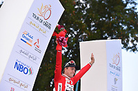 Podium, BOASSON HAGEN Edvald (NOR) Dimension Data, during the 7th Tour of Oman 2016, Stage 2, Omantel Head Office - Quriyat 250m (162Km), on February 17, 2016 - Photo Tim de Waele / DPPI