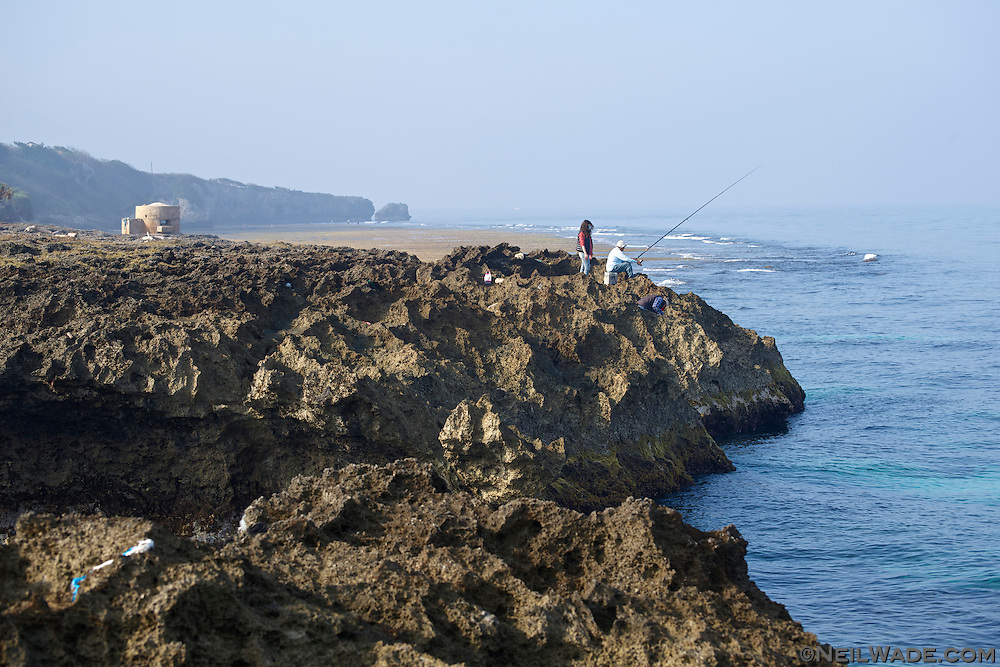 Fishing is a way of life for most of the inhabitants of Xiaoliuqiu, Taiwan.