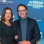NLD/Zaandam/20190128- première musical Op Hoop van Zegen, Hugo Haenen en ......