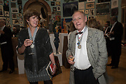 EMMA STIBBON, NORMAN AKROYD, 2019 Royal Academy Annual dinner, Piccadilly, London.  3 June 2019