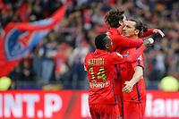 Zlatan Ibrahimovic (psg) marque le premier but sur penalty