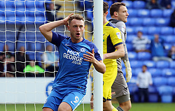 Ricky Miller of Peterborough United rues a missed chance to score - Mandatory by-line: Joe Dent/JMP - 30/09/2017 - FOOTBALL - ABAX Stadium - Peterborough, England - Peterborough United v Oxford United - Sky Bet League One