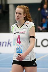 20190131 NED: Semi Final Cup Sliedrecht Sport - Eurosped, Sliedrecht <br />Eline Gommans (4) of Team Eurosped Twente<br />©2019-FotoHoogendoorn.nl / Pim Waslander