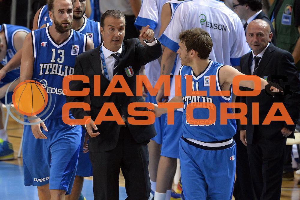 DESCRIZIONE : Capodistria Koper Slovenia Eurobasket Men 2013 Preliminary Round Russia Italia Russia Italy<br /> GIOCATORE : Simone Pianigiani Travis Diener<br /> CATEGORIA : Schema<br /> SQUADRA : Italia<br /> EVENTO : Eurobasket Men 2013<br /> GARA : Russia Italia Russia Italy<br /> DATA : 04/09/2013<br /> SPORT : Pallacanestro&nbsp;<br /> AUTORE : Agenzia Ciamillo-Castoria/GiulioCiamillo<br /> Galleria : Eurobasket Men 2013 <br /> Fotonotizia : Capodistria Koper Slovenia Eurobasket Men 2013 Preliminary Round Russia Italia Russia Italy<br /> Predefinita :