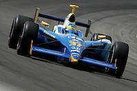 Sebastien Bourdais at the Indianapolis Motor Speedway, Indianapolis 500, May 29, 2005