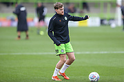 Forest Green Rovers Dayle Grubb(8) James Wade during the EFL Sky Bet League 2 match between Forest Green Rovers and Plymouth Argyle at the New Lawn, Forest Green, United Kingdom on 16 November 2019.