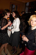 Lady Barbara Black, Petronella Wyatt and Lady Wyatt. Book party for LAST VOYAGE OF THE VALENTINA by Santa Montefiore (Hodder & Stoughton) Asprey,  New Bond St. 12 April 2005. ONE TIME USE ONLY - DO NOT ARCHIVE  © Copyright Photograph by Dafydd Jones 66 Stockwell Park Rd. London SW9 0DA Tel 020 7733 0108 www.dafjones.com