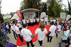 at Special Olympics Law Enforcement Torch Run for Special Olympics European Summer Games 2010, Warsaw, Poland in September 7, in Ljubljana, Slovenia. (Photo by Matic Klansek Velej / Sportida)