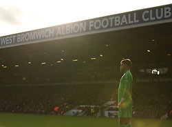 Ben Foster of West Bromwich Albion watches the action as the autumn sun sets over The Hawthorns - Mandatory by-line: Paul Roberts/JMP - 28/10/2017 - FOOTBALL - The Hawthorns - West Bromwich, England - West Bromwich Albion v Manchester City - Premier League