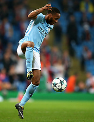 Raheem Sterling of Manchester City - Mandatory by-line: Matt McNulty/JMP - 26/09/2017 - FOOTBALL - Etihad Stadium - Manchester, England - Manchester City v Shakhtar Donetsk - UEFA Champions League Group stage - Group F
