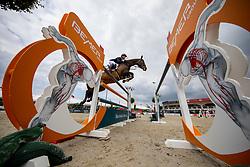 JUNG Michael (GER), fischerChelsea<br /> Hagen - Horses and Dreams 2019<br /> Großer Preis der Deutschen Kreditbank AG- BEMER RIDERS TOUR - Wertungsprüfung - CSI4* Grand Prix Two Rounds<br /> 28. April 2019<br /> © www.sportfotos-lafrentz.de/Stefan Lafrentz