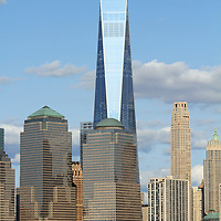 Freedom Tower and the Lower Manhattan skyline, New York City
