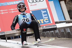 February 8, 2019 - Ljubno, Savinjska, Slovenia - Anna Rupprecht of Germany on first competition day of the FIS Ski Jumping World Cup Ladies Ljubno on February 8, 2019 in Ljubno, Slovenia. (Credit Image: © Rok Rakun/Pacific Press via ZUMA Wire)