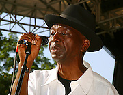 Thomas Mapfumo performs at Central Park SummerStage on July 11, 2003.
