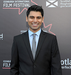 Edinburgh International Film Festival, Thursday, 21st June 2018<br /> <br /> 'EATEN BY LIONS' World Premiere<br /> <br /> Pictured: Antonio Aakeel<br /> <br /> (c) Aimee Todd | Edinburgh Elite media