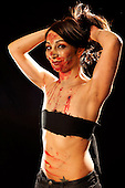 Christy - Zombie pinups