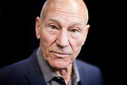 © Licensed to London News Pictures. 09/08/2016. Hudderfield UK. Sir Patrick Stewart has visited Huddersfield University today to see the drama department officially renamed the Sir Patrick Stewart Building. The actor famed for his role as Captain Jean-Luc Picard in Star Trek was the chancellor of the university from  2004 until 2015 when he handed the role over to the Duke of York.  Photo credit: Andrew McCaren/LNP