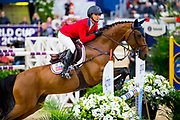 Georgina Bloomberg - Chameur 137<br /> FEI World Cup Final Gothenburg 2019<br /> &copy; DigiShots