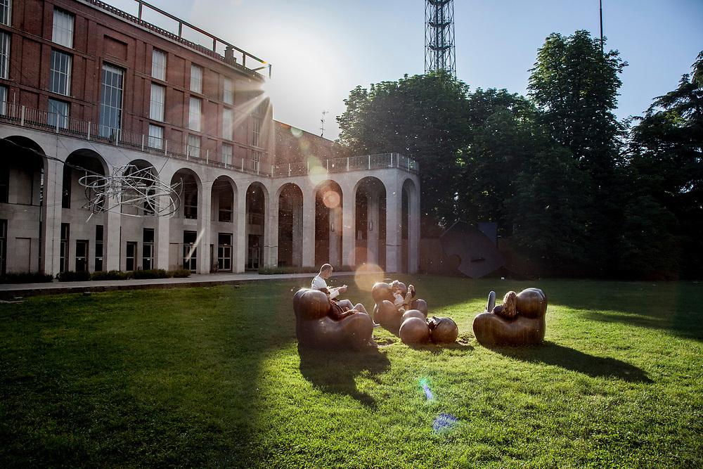 Milano, museo della Triennale. Museo del Design