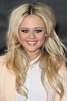LONDON - SEPTEMBER 03: Emily Atack attended the European Film Premiere of 'The Sweeney' at the Vue Cinema, Leicester Square, London, UK. September 03, 2012. (Photo by Richard Goldschmidt)