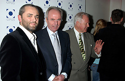 Left & centre, KARL FOWLER and SVEN GORAN ERIKSSON  at a launch party for Kraken Opus's new luxury sports books held at Sketch, 9 Conduit Street, London W1 on 22nd February 2006.<br />