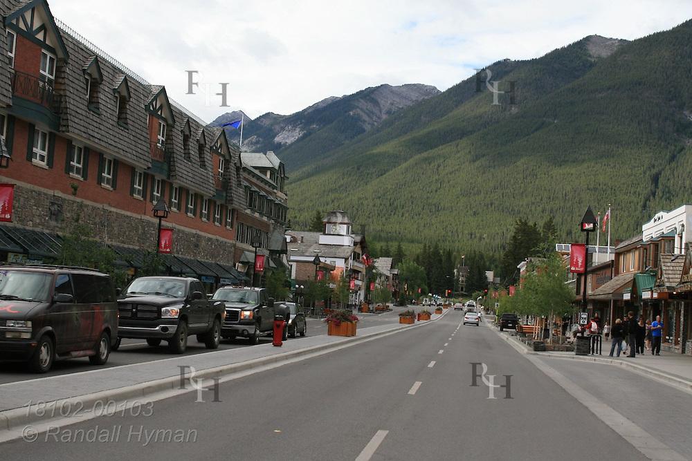 Main street; Banff, Alberta, Canada.
