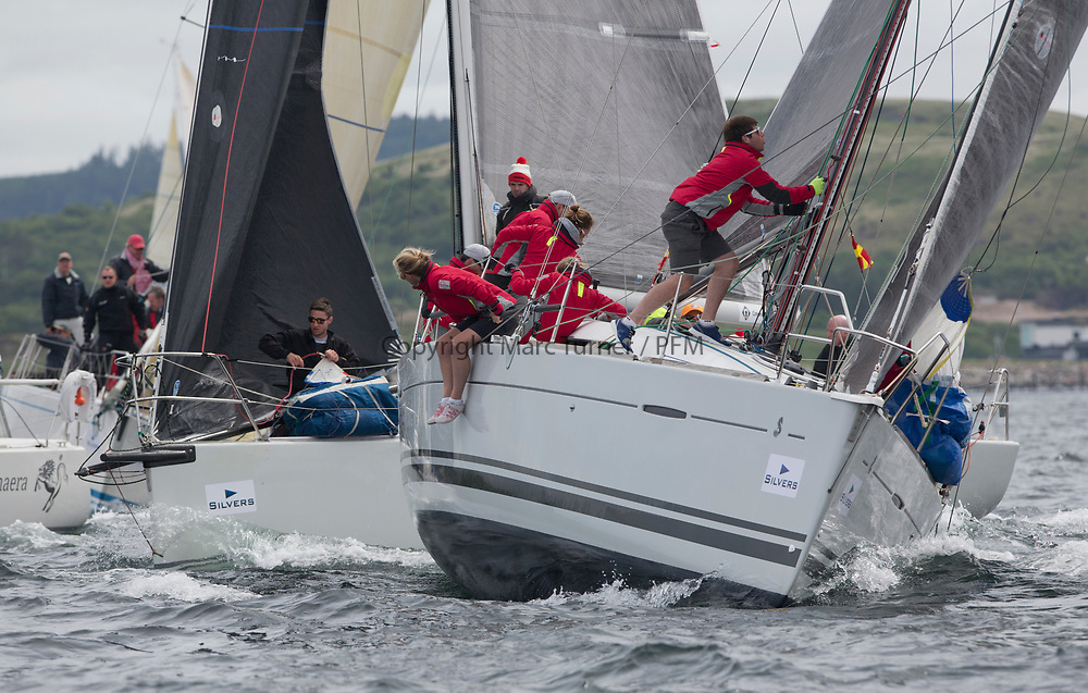 Silvers Marine Scottish Series 2017<br /> Tarbert Loch Fyne - Sailing Day 3<br /> <br /> FRA37296, Triple Elf, Christine Murray, CCC/Fairlie YC, Beneteau First 35