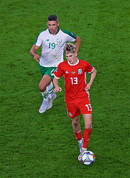 CARDIFF, WALES - Thursday, September 6, 2018: Wales' David Brooks during the UEFA Nations League Group Stage League B Group 4 match between Wales and Republic of Ireland at the Cardiff City Stadium. (Pic by Laura Malkin/Propaganda)