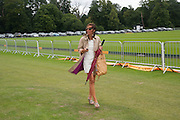 SIOBHAN FARLEY  , Veuve Clicquot Gold Cup. Cowdray Park on July 20, 2008 . Midhurst, England.