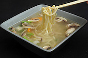 Japanese Miso Soup with noodles