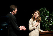 April 2012 Presidential Speaker Ingrid Betancourt. (Photo by Gonzaga University)