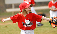 WARWICK, PA - APRIL 12: Children play baseball with the support of family members during Warwick Township Little League opening day for the baseball season April 12, 2008 in Warwick, Pennsylvania. (Photo by William Thomas Cain/Cain Images)